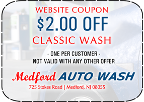 Medford Classic Wash Coupon