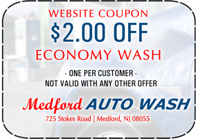 Medford Economy Wash Coupon