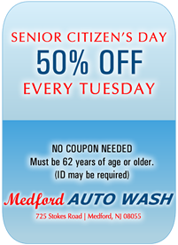 Car Wash Senior Special