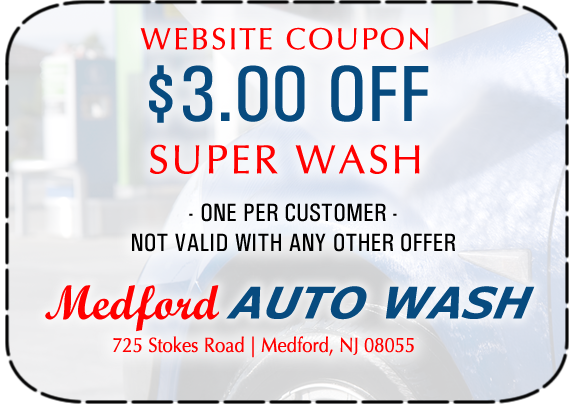 Supersonic car wash coupons